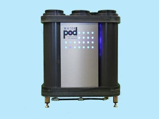 Stonehouse Water Technologies raised $1.55 million to support production of its water purifier WaterPOD 8.