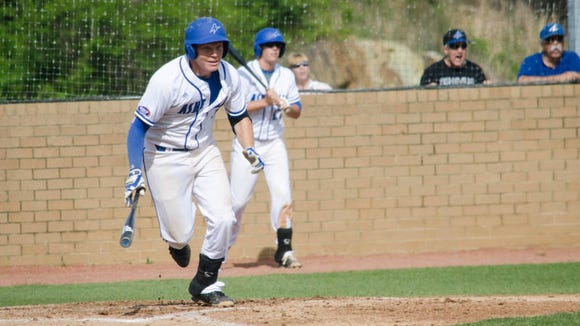 Erwin alum Hunter Bryant is a senior for the UNC Asheville