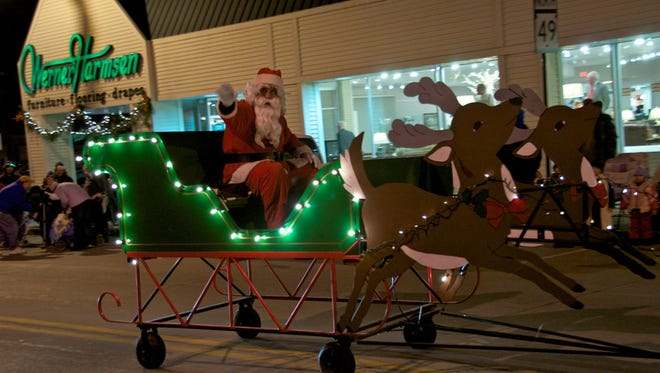 The annual Avenue of Angels Holiday Festival begins Tuesday Nov. 29. A Christmas parade will be held on Main Street at 6:30 p.m.
