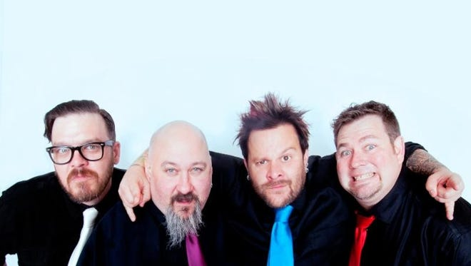 Hometown, Grammy-nominated pop-punk-rockers Bowling for Soup will headline the St. Patrick's Day Downtown Street Festival March 11.