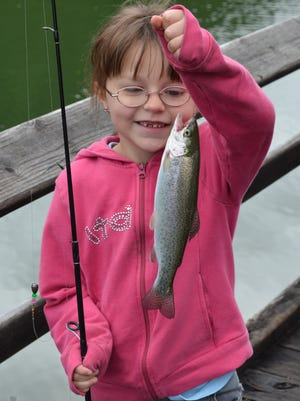 A kid, a fish and a smile are what the June 6 events are about during Free Fishing Weekend with clinics, free gear and bait and assistance available at sites around the state.