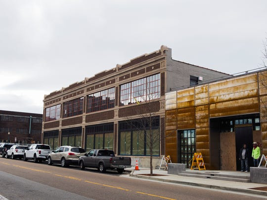 The new Old Dominick distillery, which is still under construction, is located at 305 S. Front in downtown Memphis on Thursday, Jan. 26, 2017.