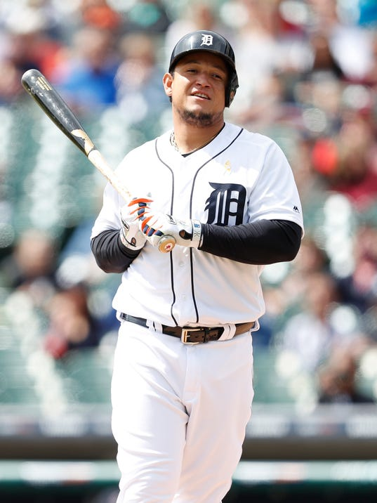 Game One: Cleveland Indians at Detroit Tigers