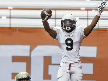 Aquinas senior Earnest Edwards scored 28 touchdowns this past season.