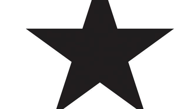 "Cover art for David Bowie's new album ""Blackstar."""