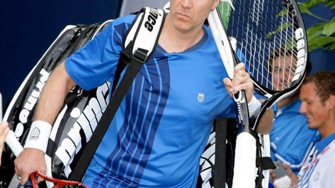 Will Ferrell, seen in his tennis garb, hosts the Desert Smash.
