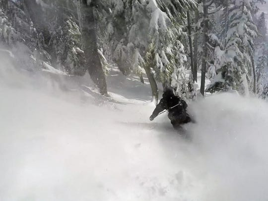 The powder at Mount Hood Meadows early this season.