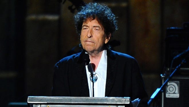 Bob Dylan in February 2015 in Los Angeles.