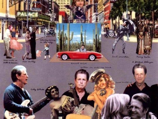 "The cover to Brian Wilson's 2004 album ""Gettin' In"