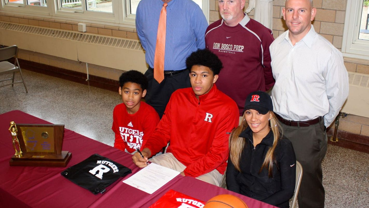 Cooper Rutgers basketball ting big prize in Ron Harper Jr