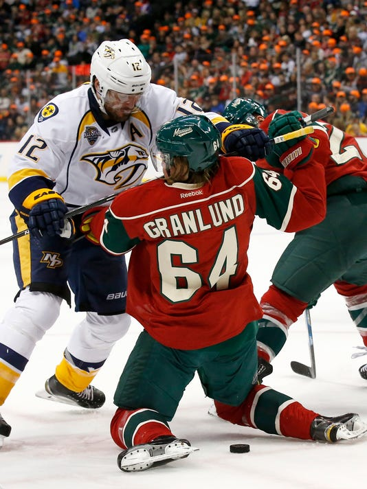 Mike Fisher, Mikael Granlund