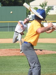 Carter Graves of Viola pitches during the Mountain