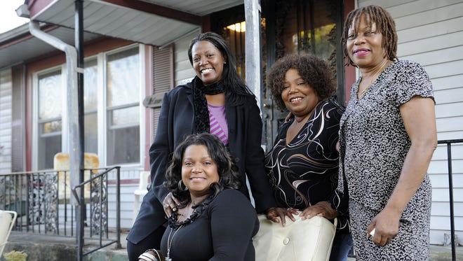 The McCrary Sisters, from left: Alfreda, Ann, Deborah and Regina.