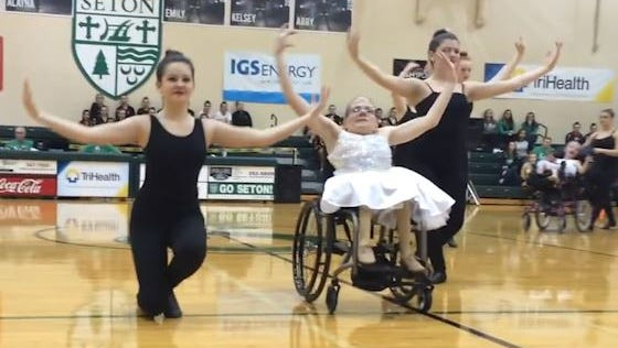 The 'Wonders on Wheels' dance class debuted a dance routine they've been working on since October.
