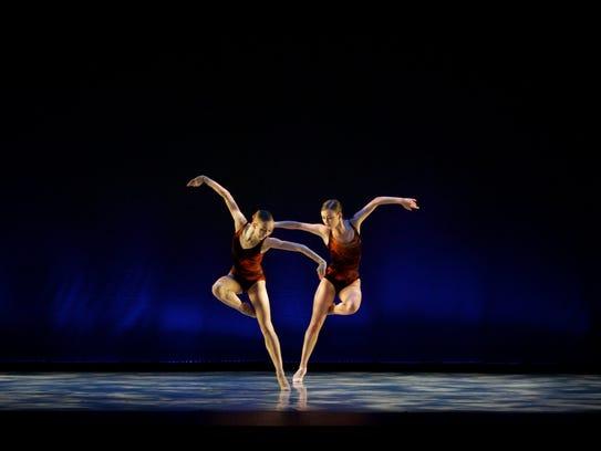 Eleanor Albaugh and Bobbie Lynn Kandravi create mirror
