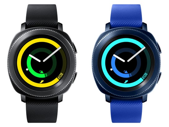 Samsung's Gear Sport smartwatch, no price or availability