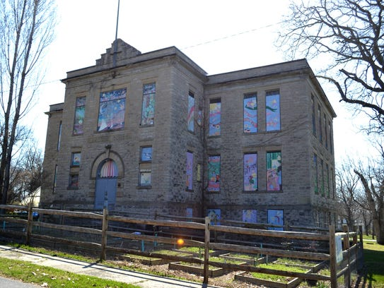 Lakeside's master plan includes a new vision for the unused schoolhouse that would repurpose into a performing arts and cultural arts center.