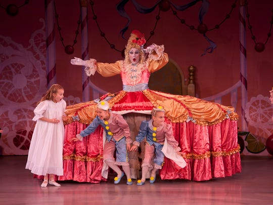 "Indianapolis School of Ballet presents ""The Nutcracker"" beginning Dec. 18- Dec. 21 at Scottish Rite Cathedral in downtown Indianapolis."