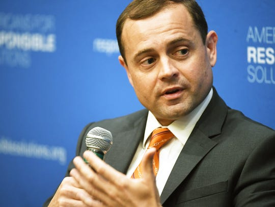 Former congressman Tom Perriello, Northam's opponent