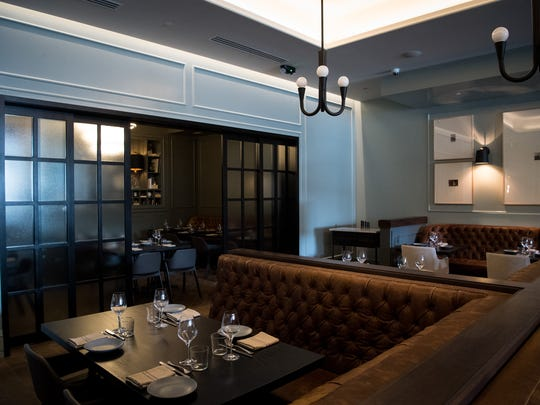 The dining area at Henley in Nashville on Thursday,