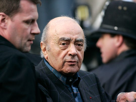 Mohamed Fayed in London, Feb 18, 2008.