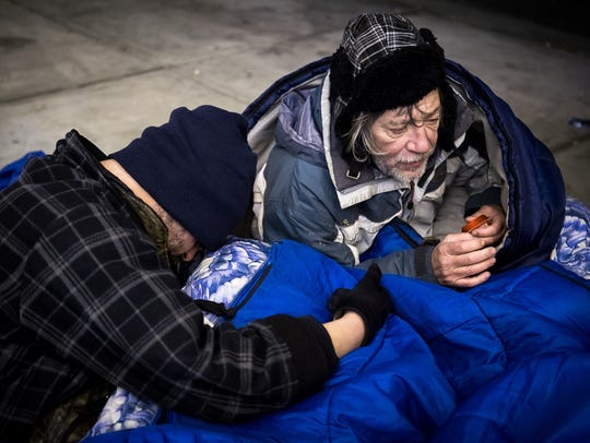 Homeless individuals can stay at First Baptist Church Winchester on Friday nights to get out of the cold.