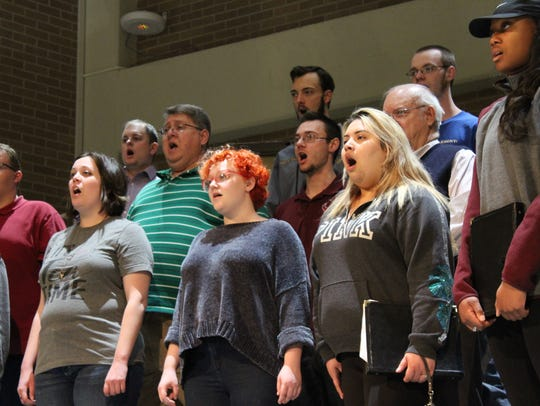 McMurry University's choral group the Chanters will