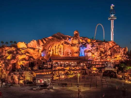 The Calico Mine Ride is among the largest dark rides