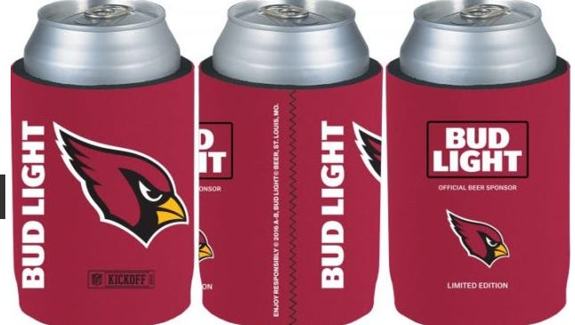 Bud Light is at it again. It now has 'coolies' to go with its custom team cans.