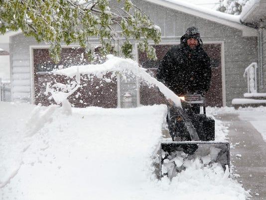 AP SOUTH DAKOTA SNOW A WEA USA SD