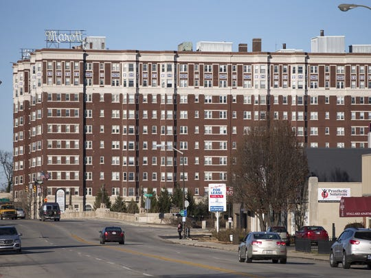 The Marott, a historic apartment building in Indianapolis,