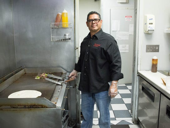 Juan Morales, owner of Santa Fe Grill, recently purchased a new, 6,500 square-foot building to house a kitchen that will allow for him to expand his catering service as well as increase fresh and frozen product lines. Feb. 16, 2018.
