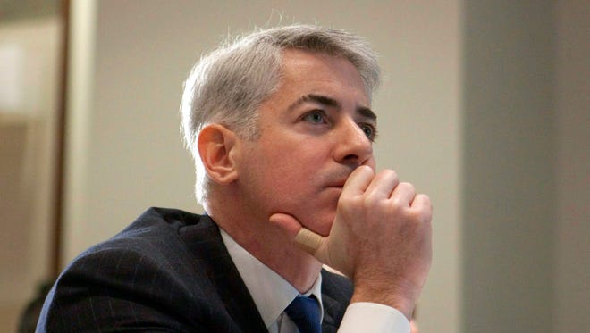 File photo taken in 2012 shows William Ackman, founder of  Pershing Square Capital Management, at a Toronto conference.