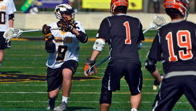 Red Lion navigated the Y-A League boys' lacrosse schedule best and with that, earned the top seed in the league playoffs.  John A. Pavoncello photo