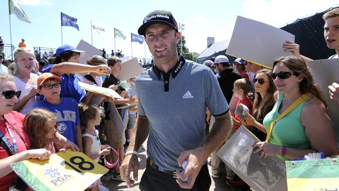 Dustin Johnson is ranked No. 1 and will be a favorite to win the Masters.