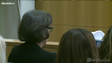 La madre de Travis Alexander no habló durante la fase