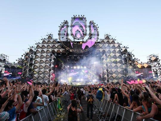 Ultra Music Festival, as seen in 2013