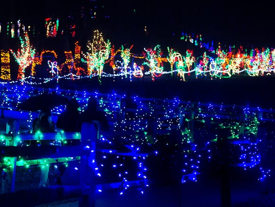 Rocky Ridge Christmas Lights