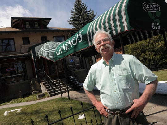 Clyde Canino of Canino's is pictured at the 613 S. College Ave. restaurant.