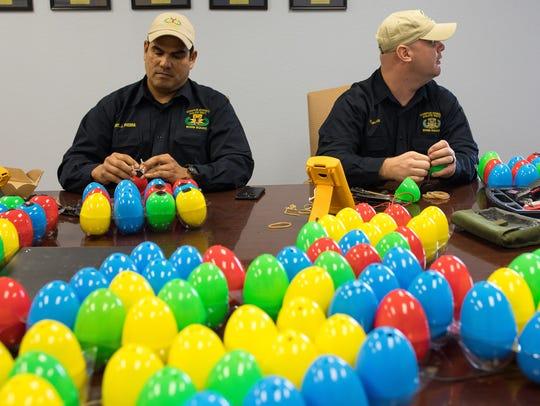 Corpus Christi Police bomb squad technician Sgt. Joseph