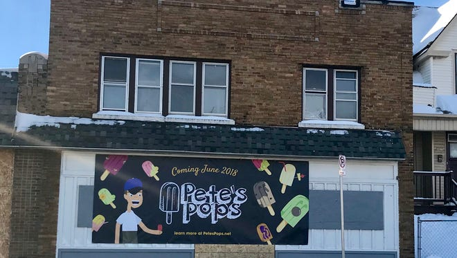 Pete's Pops plans to open its first storefront in summer at N. 38th and W. Vliet streets.