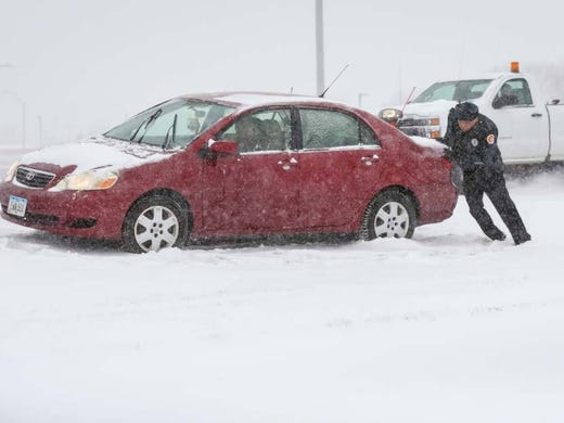 how to drive safely in snow