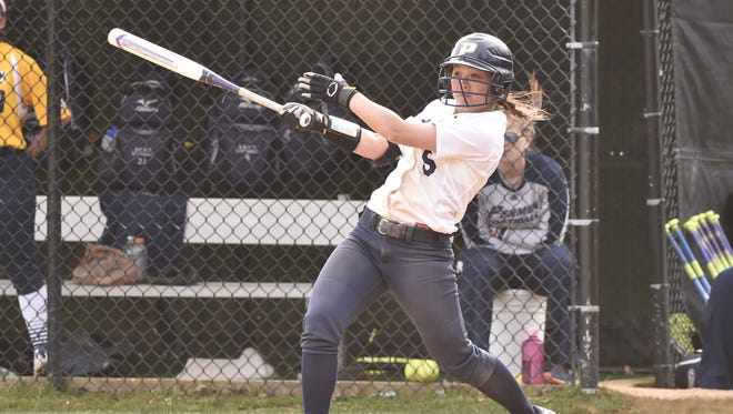 Pace softball's Ashley Lew, a Clarkstown North graduate, played a key role during the team's run to its first-ever Northeast-10 tournament title.