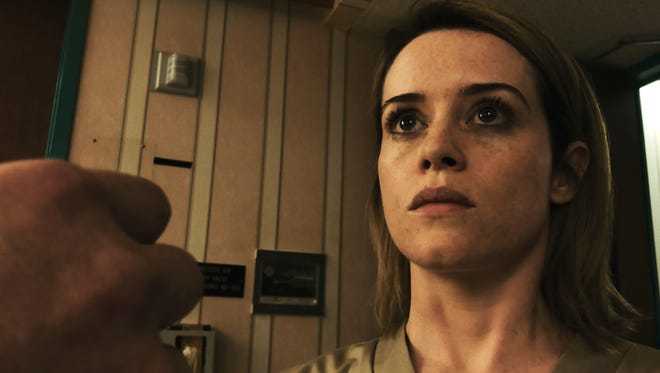 Claire Foy stars as Sawyer Valentini in Steven Soderbergh's 'Unsane'.