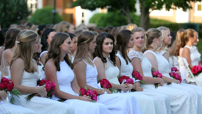 The Harpeth Hall graduation takes place Monday May 30, 2016 at Harpeth Hall.