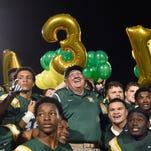 Photos: Coach John Herrington breaks state wins record