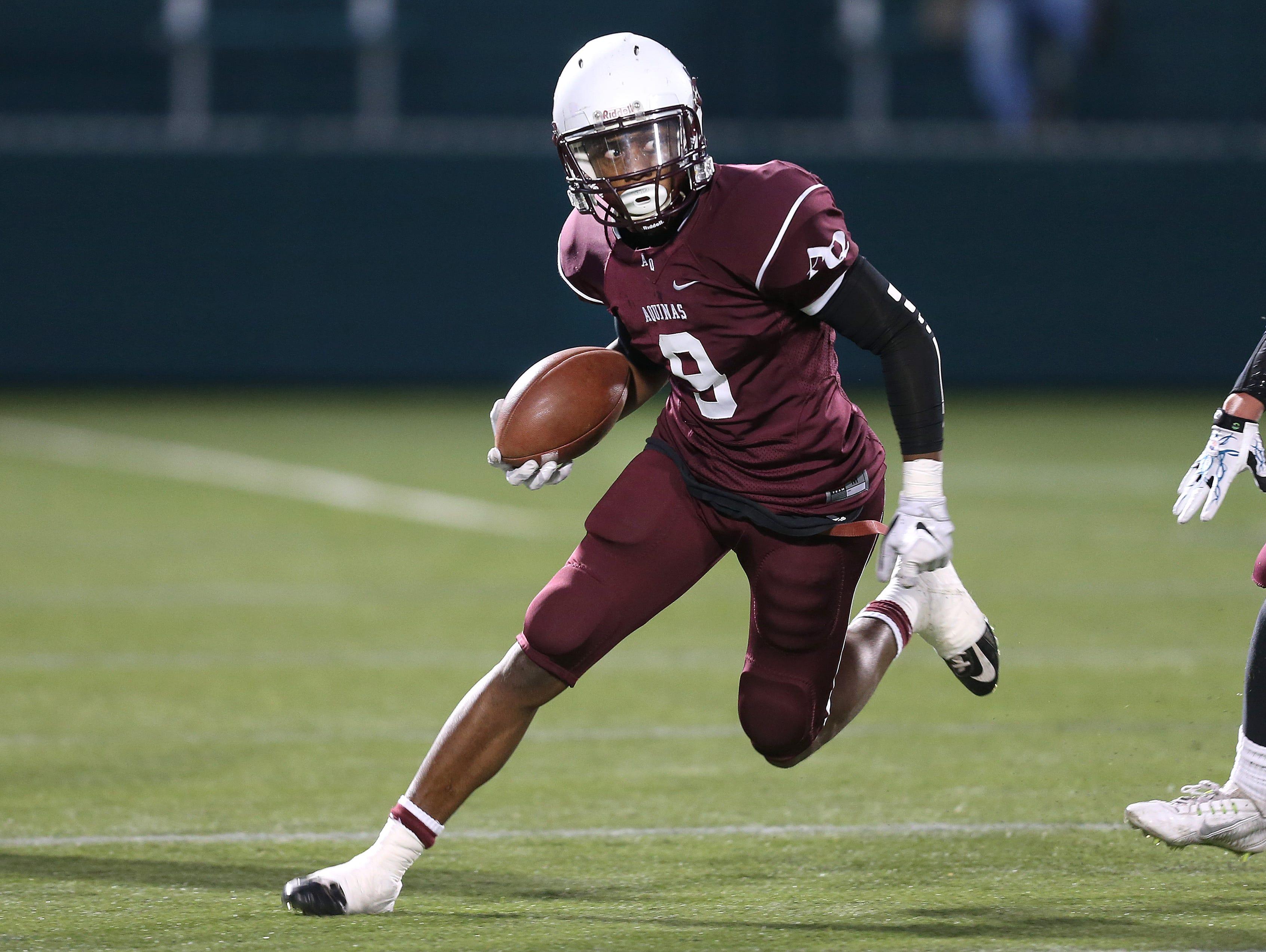 Wide receiver Earnest Edwards - Class of 2016