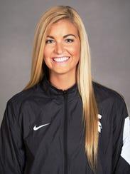 Michigan State senior Chloe Reinig has helped the women's