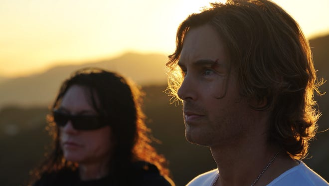 "Tommy Wiseau, left, and Greg Sestero in ""Best F(r)iends."""