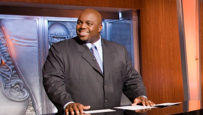 Former offensive lineman Jamie Dukes now works for NFL Network, among other endeavors.
